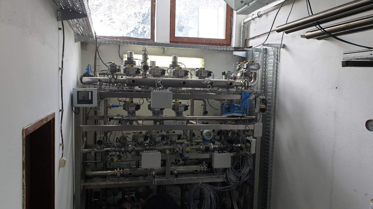 Ulazno čvorište u fabrici prolom vode